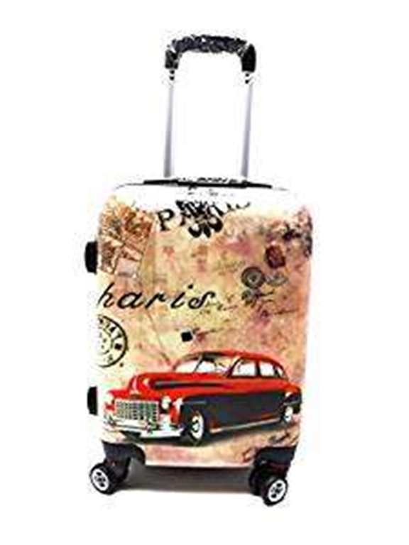 Trolley ABS Rigido Lucido 8 Ruote Idoneo Easyjet cm.50x40x20,Misure effettive cm.50x36x20 Stampe Disegno Idoneo Ryanair