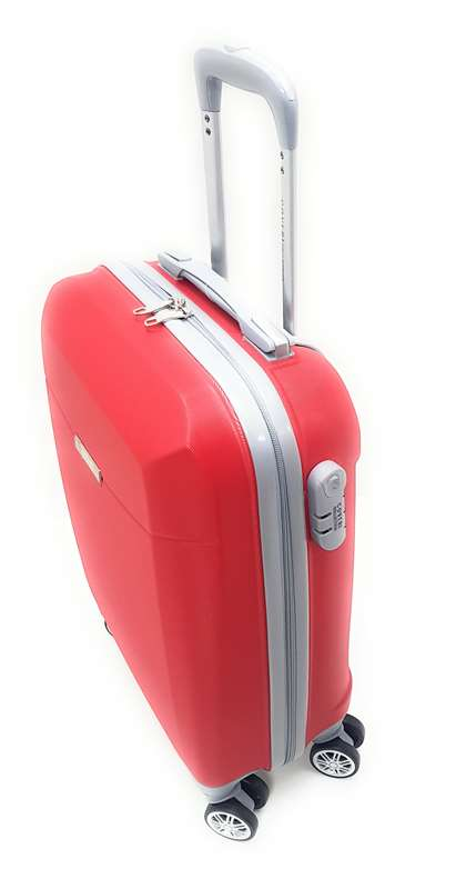 Trolley Ryanair cm.55x40x20 ABS 8 ruote Coveri Collection idoneo bagaglio a mano Priority
