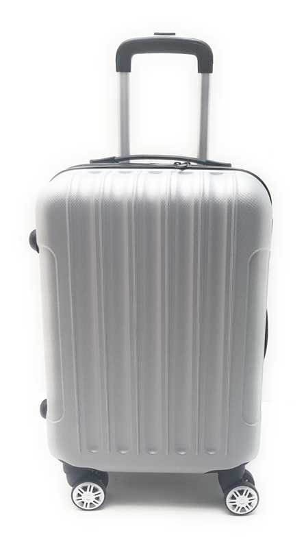 Trolley ABS Bagaglio a Mano Easyjet 8 Ruote Clacson