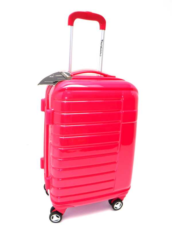 Trolley Ryanair Idoneo cm 55x40x20 in ABS Lucido 8 Ruote Bagaglio a Mano Trolley Cabina Low Cost